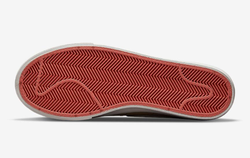 秋冬卡其装扮!全新Nike Blazer Low Platform即将登场! 货号:DQ9318-200