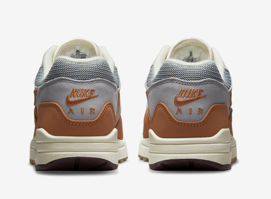 复古时尚!Patta x Nike Air Max 1后天上架! 货号:DH1348-001