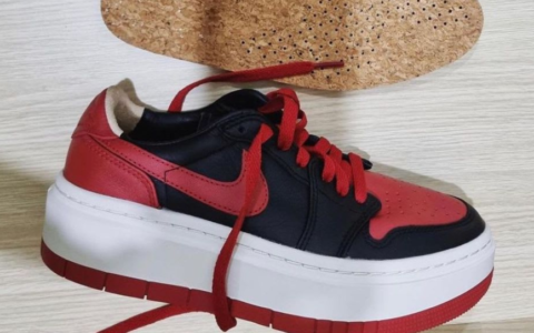 增高厚底鞋!全新黑红AJ1惊艳亮相!