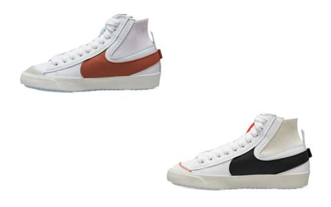 酷似OW联名!两款全新Nike Blazer Mid下月发售!