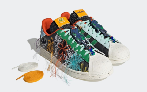 潮人必备!Sean Wotherspoon x adidas新联名即将登场! 货号:GX3823